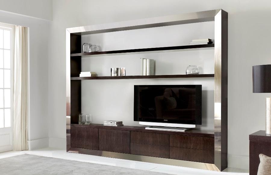 Salones de dise o mueble tv estanter a tv846 260 - Librerias modulares ...