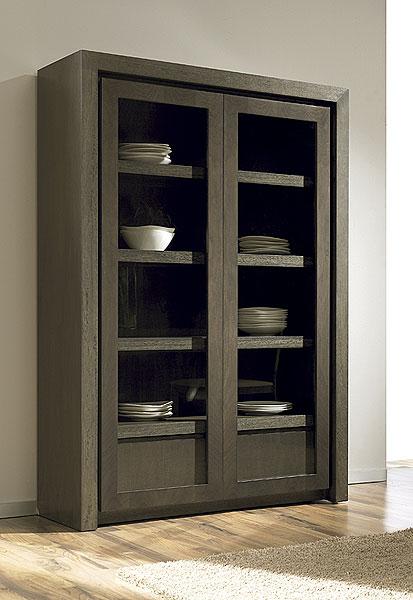 Comedores de diseño - Vitrina puertas y cajón, Fabricante ...