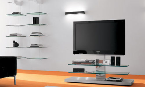 Salones de dise o mueble de tv panorama cattelan it - Muebles tv de diseno ...