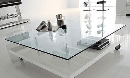 Salones de dise o mesa de centro parsifal cattelan it - Mesas de centro con cajones ...