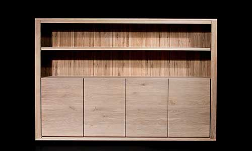 Mueble aparador en roble natural