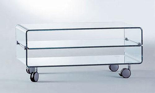Salones de dise o mueble tv o sonido fiam italia for Muebles para tv con ruedas