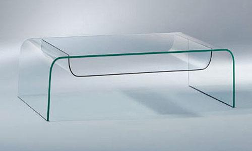 Salones de dise o mesa de centro giano fiam italia - Mesas de centro de diseno de cristal ...