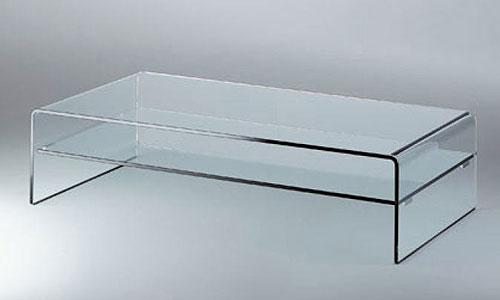 Salones de dise o mesa de centro rialto piano fiam italia - Mesas de centro en vidrio ...