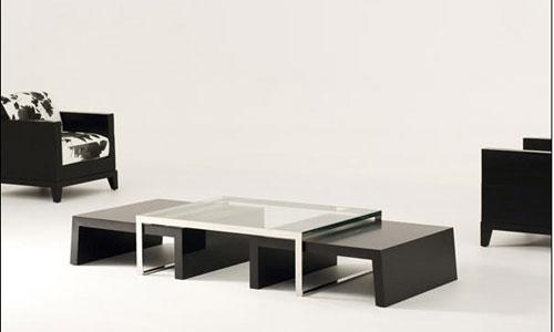 mesas de centro trio jnl mobilier
