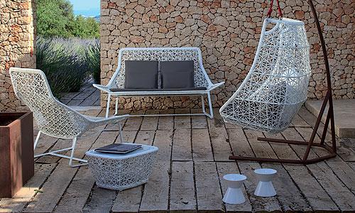 Mobiliario para exterior conjunto sof sill n relax for Sillones exterior diseno